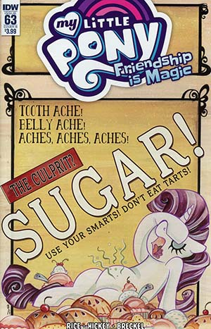 My Little Pony Friendship Is Magic #63 Cover B Variant Sara Richard Cover