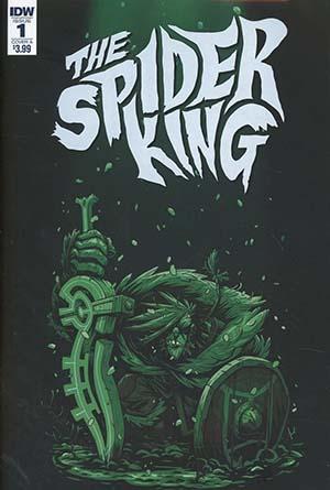 Spider King #1 Cover A Regular Simone DArmini Cover