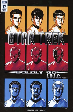 Star Trek Boldly Go #17 Cover A Regular Marcus To Cover