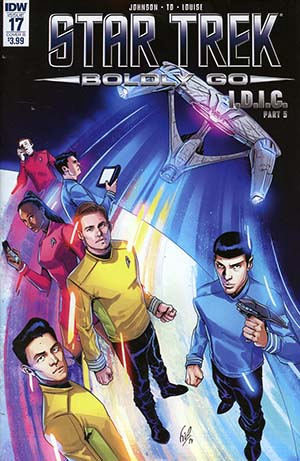 Star Trek Boldly Go #17 Cover B Variant Fico Ossio Cover