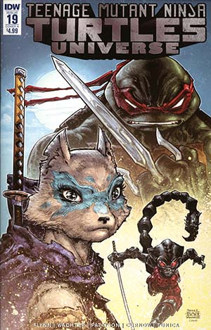 Teenage Mutant Ninja Turtles Universe #19 Cover A Regular Freddie E Williams II Cover