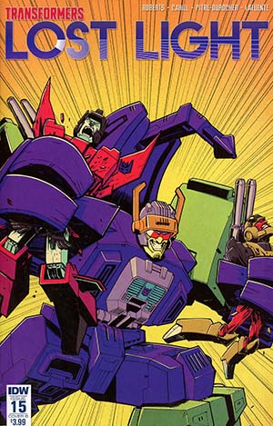 Transformers Lost Light #15 Cover B Variant Nick Roche Cover