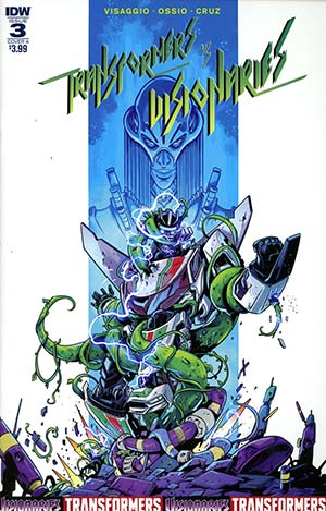 Transformers vs Visionaries #3 Cover A Regular Fico Ossio Cover