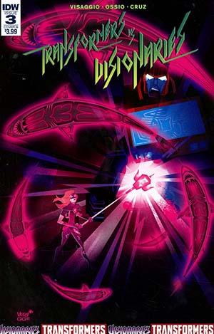 Transformers vs Visionaries #3 Cover B Variant Jeffrey Veregge Cover