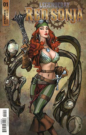 Legenderry Red Sonja Vol 2 #1 Cover A Regular Joe Benitez Cover