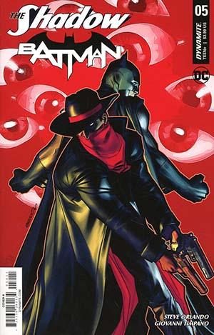 Shadow Batman #5 Cover A Regular Brandon Peterson Cover