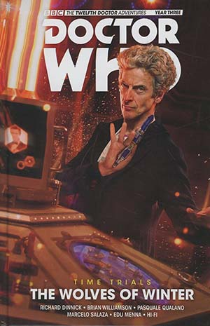 Doctor Who 12th Doctor Time Trials Vol 2 Wolves Of Winter HC
