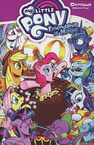 My Little Pony Friendship Is Magic Omnibus Vol 4 TP
