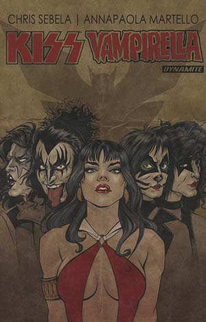 KISS Vampirella TP