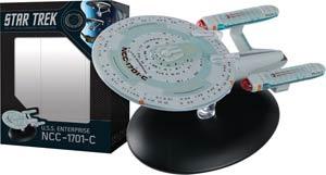 Star Trek Starships Best Of Figurine Collection #10 USS Enterprise NCC-1701-C