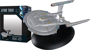 Star Trek Starships Best Of Figurine Collection #3 USS Enterprise NX-01