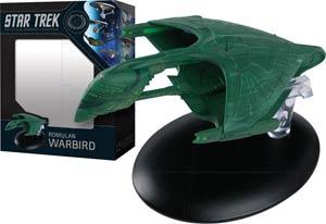Star Trek Starships Best Of Figurine Collection #4 Romulan Warbird