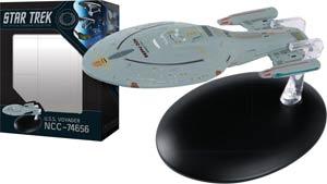 Star Trek Starships Best Of Figurine Collection #5 USS Voyager