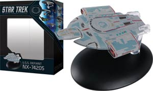 Star Trek Starships Best Of Figurine Collection #7 USS Defiant NX-74205