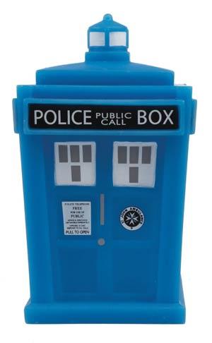 Doctor Who Titans Glow-In-The-Dark TARDIS 4.5-Inch Vinyl Figure