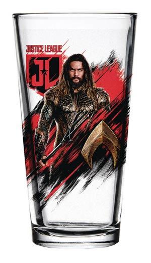 Justice League Movie Pint Glass - Aquaman