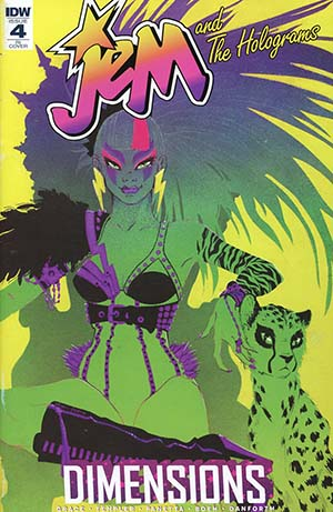 Jem And The Holograms Dimensions #4 Cover C Incentive Eliza Frye Variant Cover
