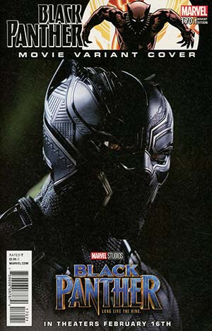Black Panther Vol 6 #170 Cover C Incentive Movie Variant Cover (Marvel Legacy Tie-In)