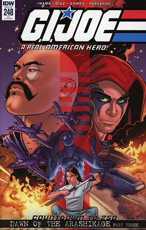 GI Joe A Real American Hero #248 Cover C Incentive Jamie Sullivan Variant Cover