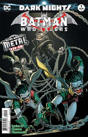 Batman Who Laughs #1 Cover B 2nd Ptg Variant Jason Fabok Cover (Dark Nights Metal Tie-In)