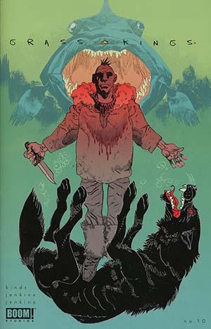 Grass Kings #10 Cover C Variant Artyom Trakhanov Cover
