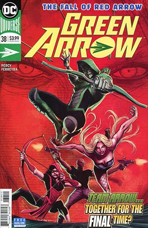 Green Arrow Vol 7 #38 Cover A Regular Juan Ferreyra Cover