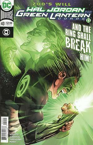 Hal Jordan And The Green Lantern Corps #40 Cover A Regular Rafa Sandoval & Jordi Tarragona Cover