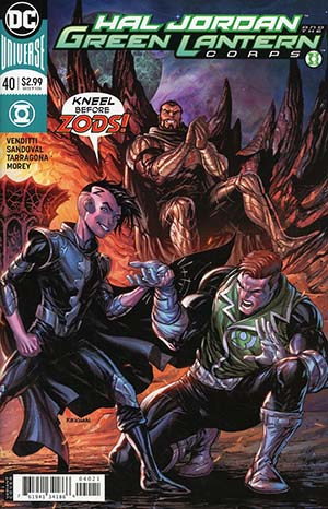 Hal Jordan And The Green Lantern Corps #40 Cover B Variant Tyler Kirkham Cover