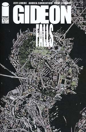 Gideon Falls #1 Cover A Regular Andrea Sorrentino Cover