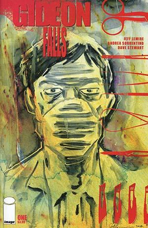 Gideon Falls #1 Cover B Variant Jeff Lemire Cover (Limit 1 Per Customer)