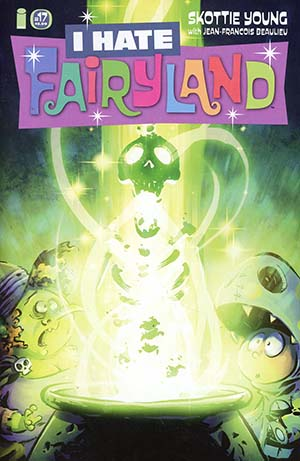 I Hate Fairyland #17 Cover A Regular Skottie Young Cover