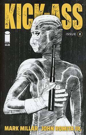 Kick-Ass Vol 4 #2 Cover B Variant John Romita Jr Sketch Cover