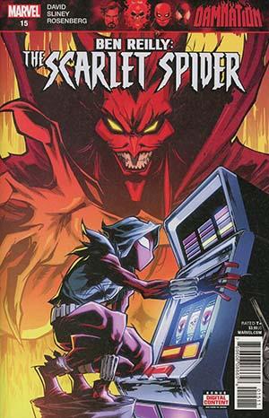 Ben Reilly The Scarlet Spider #15 (Damnation Tie-In)(Marvel Legacy Tie-In)