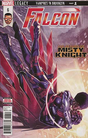 Falcon Vol 2 #6 (Marvel Legacy Tie-In)