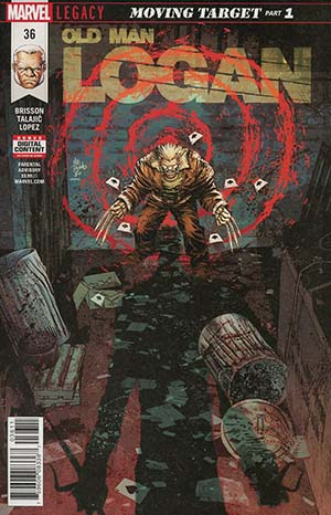 Old Man Logan Vol 2 #36 Cover A Regular Mike Deodato Jr Cover (Marvel Legacy Tie-In)