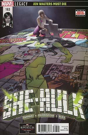She-Hulk Vol 3 #163 (Marvel Legacy Tie-In)
