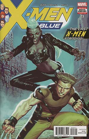 X-Men Blue #23 Cover A Regular Jorge Molina Cover (Marvel Legacy Tie-In)