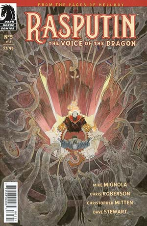 Rasputin Voice Of The Dragon #5 Cover B Variant Michael William Kaluta Cover