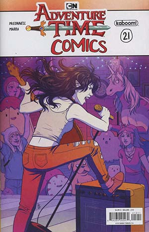 Adventure Time Comics #21 Cover A Regular Bethany Sellers Cover