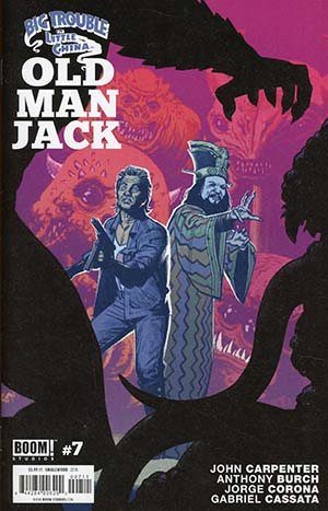 Big Trouble In Little China Old Man Jack #7 Cover A Regular Greg Smallwood Cover