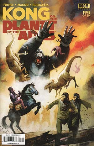 Kong On The Planet Of The Apes #5 Cover A Regular Mike Huddleston Cover