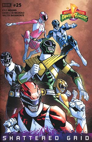 Mighty Morphin Power Rangers (BOOM Studios) #25 Cover C Humberto Ramos Unlockable Variant Cover