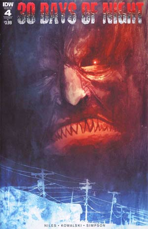 30 Days Of Night Vol 3 #4 Cover A Regular Ben Templesmith Cover