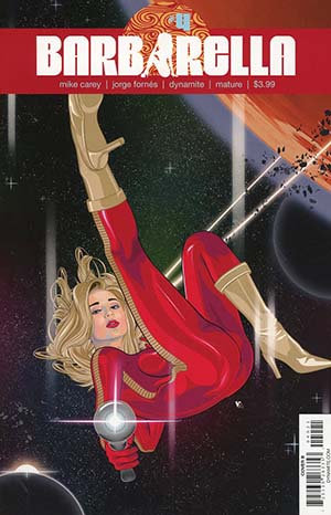 Barbarella #4 Cover B Variant Vincent Aseo Cover