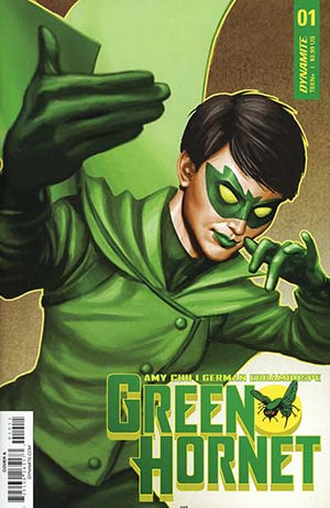 Green Hornet Vol 4 #1 Cover A Regular Mike Choi Cover