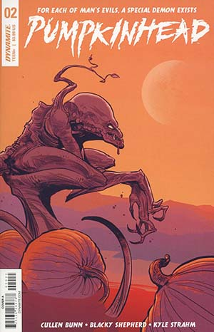 Pumpkinhead #2 Cover A Regular Kyle Strahm Cover