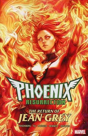 Phoenix Resurrection Return Of (Adult) Jean Grey TP Direct Market Stanley Artgerm Lau Variant Cover
