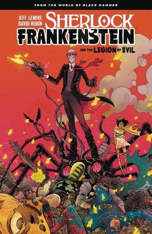Sherlock Frankenstein And The Legion Of Evil From The World Of Black Hammer TP