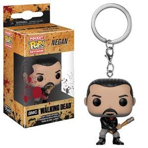 POP The Walking Dead Negan Vinyl Figure Pocket Keychain