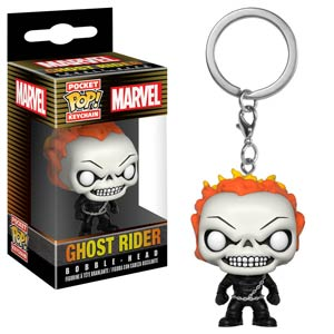 POP Agents Of S.H.I.E.L.D. Ghost Rider Vinyl Figure Pocket Keychain